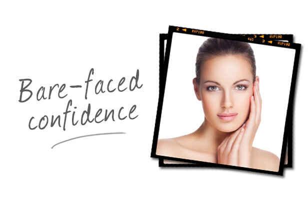 Bare Faced Confidence