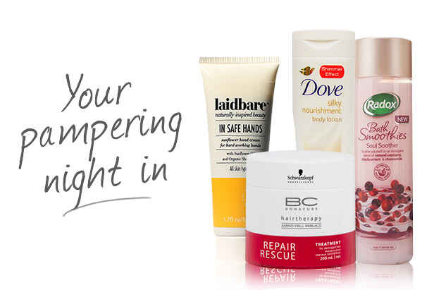 The Best Products For That Pampering Night In