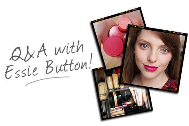 Q&A with Essie Button!
