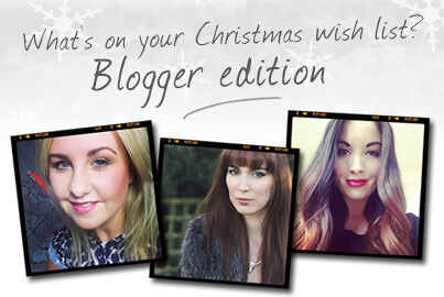 What's On Your Christmas Wish List? Blogger Edition