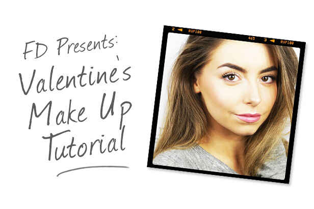 FD Presents: Valentines Makeup Tutorial