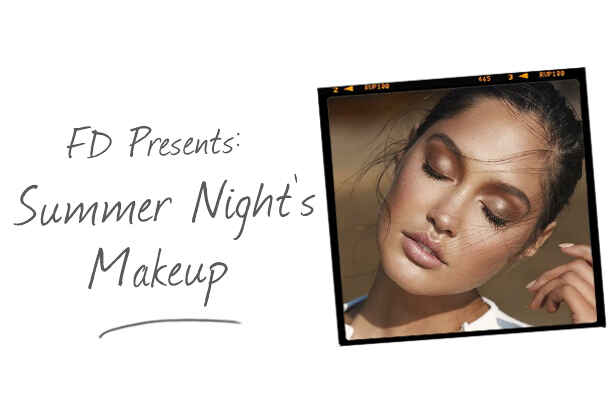 Get the Look: Summer's Night's Makeup