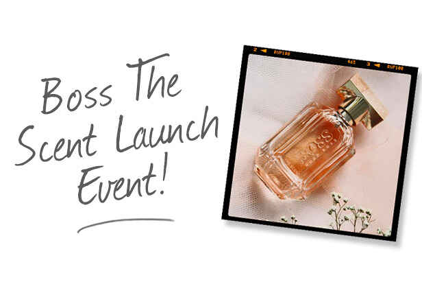 Boss The Scent for Her Launch Event