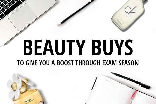 Beauty Buys To Give You A  Boost Through Exam Season