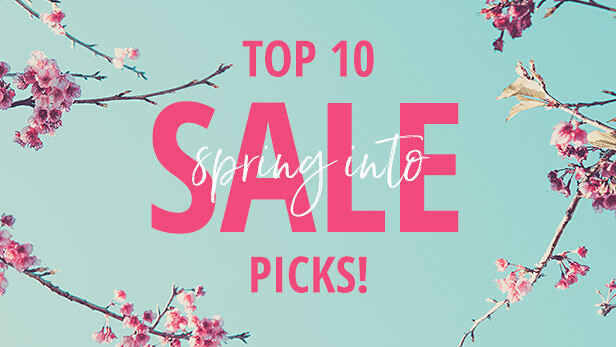 Top 10 Spring Sale Picks