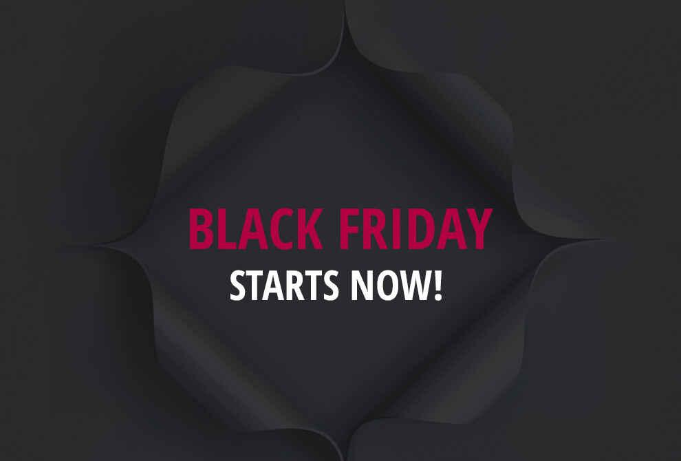 Black Friday Deals Start Here!