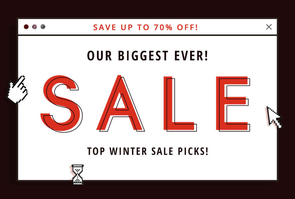Top Winter Sale Picks!