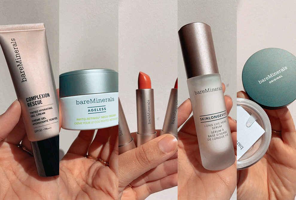 FD Beauty Blog Editor Tries: bareMinerals